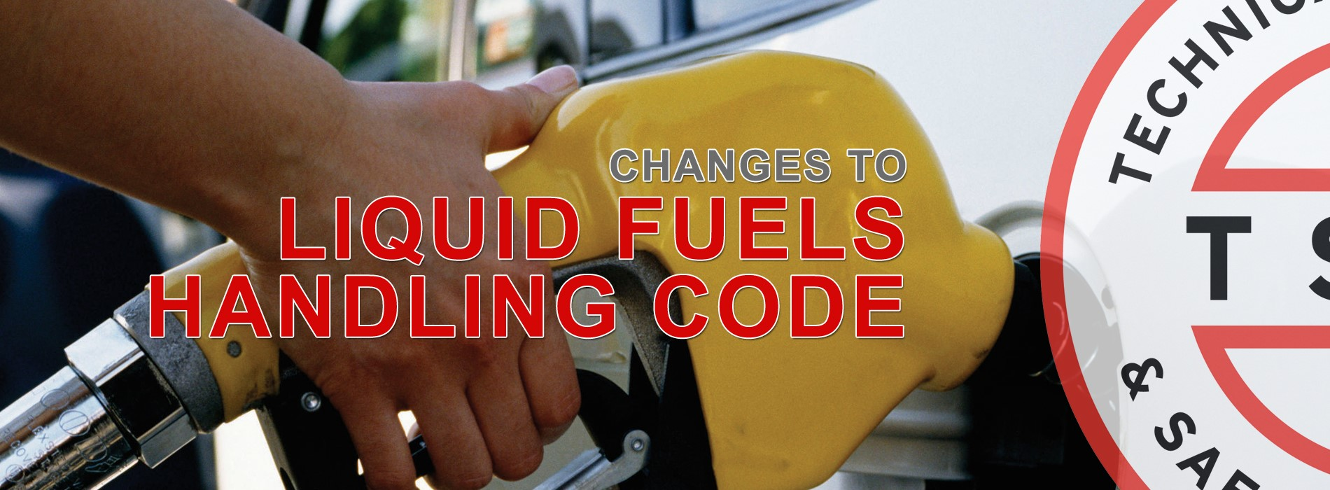 Changes to Liquid Fuels Handling Code